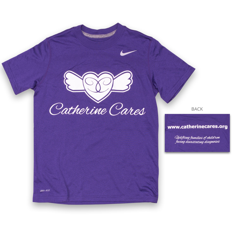 Youth Nike Dri-Fit Short-Sleeve Shirt